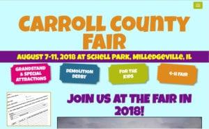 Carroll County IL Fair