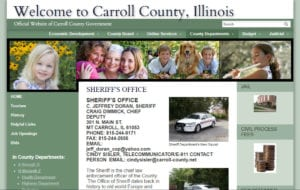 Carroll County IL Sheriff