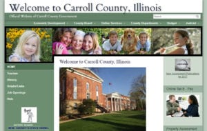 Carroll County IL Website