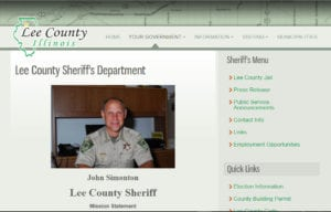 Lee County IL Sheriff