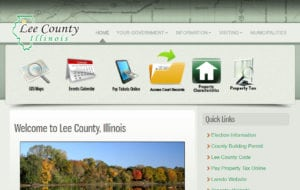 Lee County IL Website