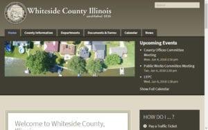 Whiteside County Illinois Website