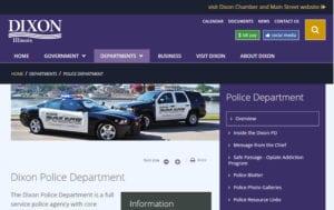Dixon IL Police