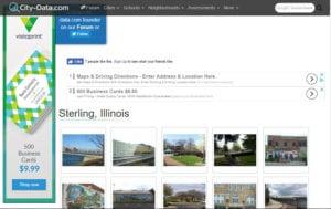 Sterling IL City Data