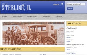 Sterling IL Website