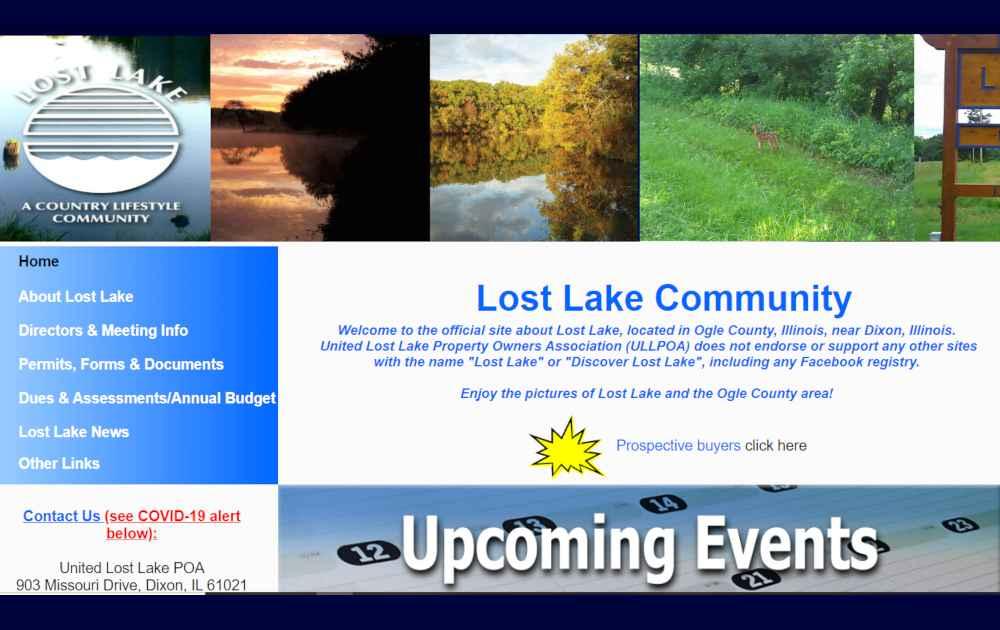 Lost Lake Dixon IL