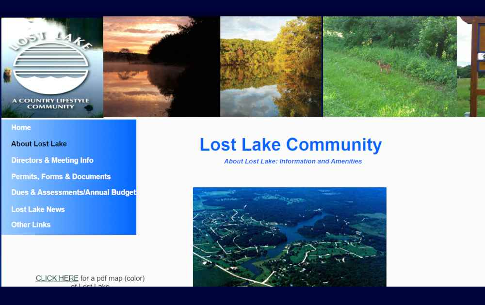 Lost Lake Dixon IL-About Lost Lake