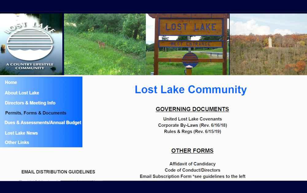 Lost Lake Dixon IL-Governing Documents
